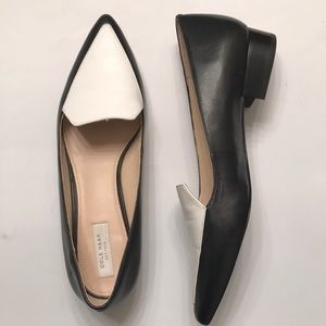 Cole Haan Abstract Leather Pointed toe loafers
